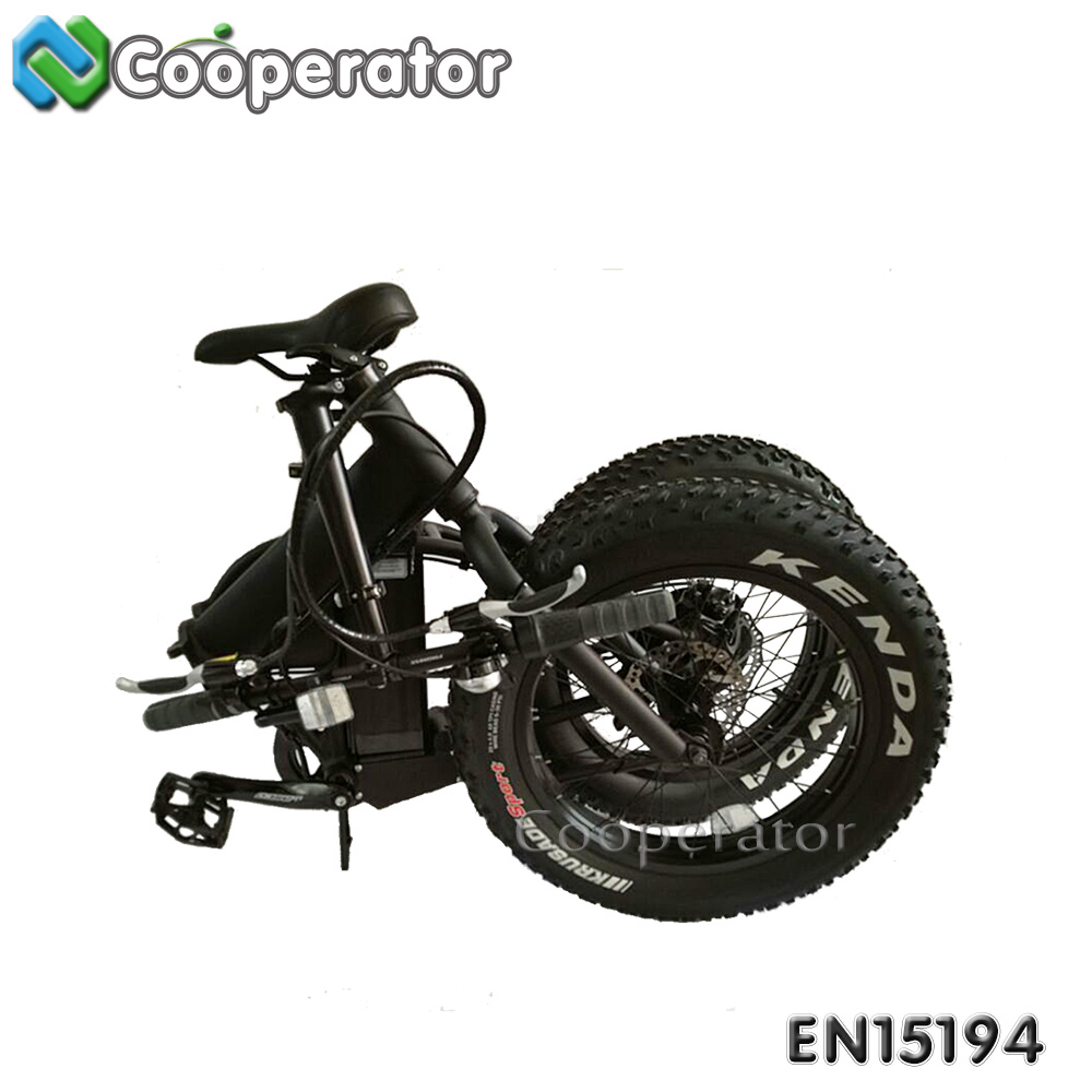 changzhou city 48v 500 Watt 7 Speeds Full Suspension MIni Folding Electric Bike electric chopper bike