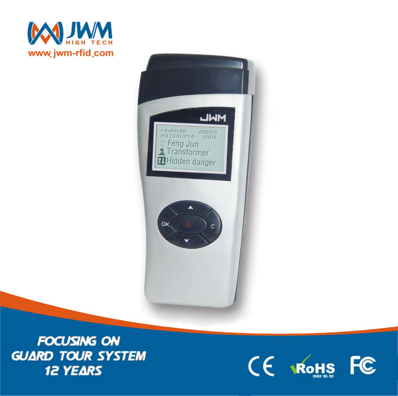 JWM 14 factory price site navigation digital guard tour system