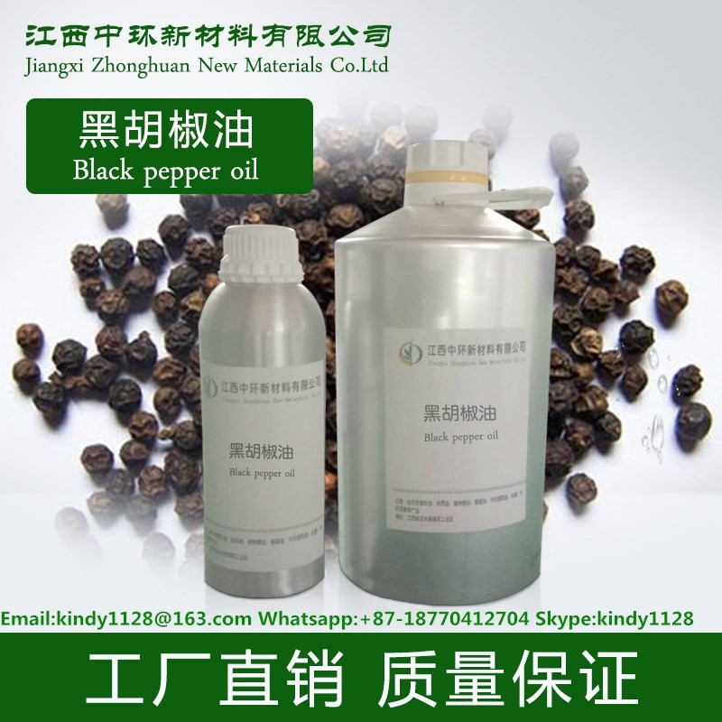100% Pure Natural black pepper plants oil wholesale for Aromatherapy and Spa