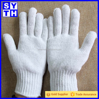 Cotton kintting safety working gloves for handicap
