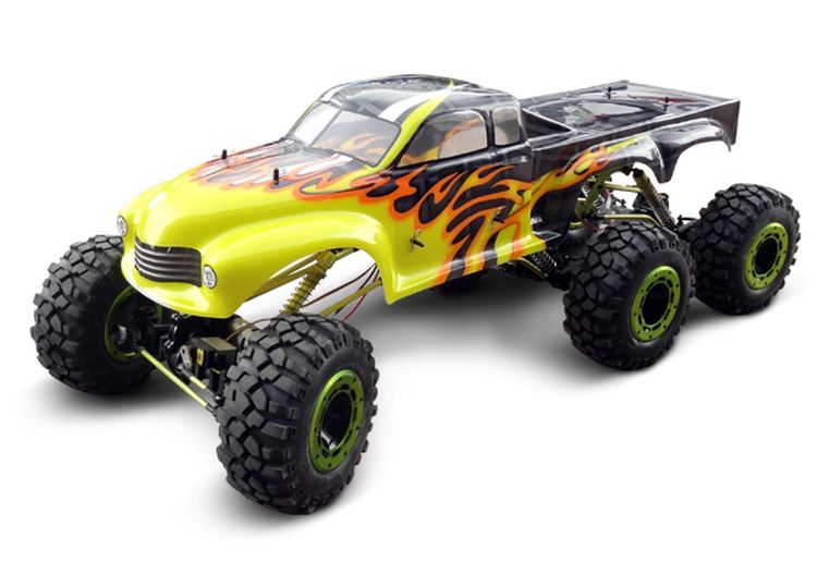 05806-1/5 Scale-1/5th 6WD Electric Six-Wheeled Crawler