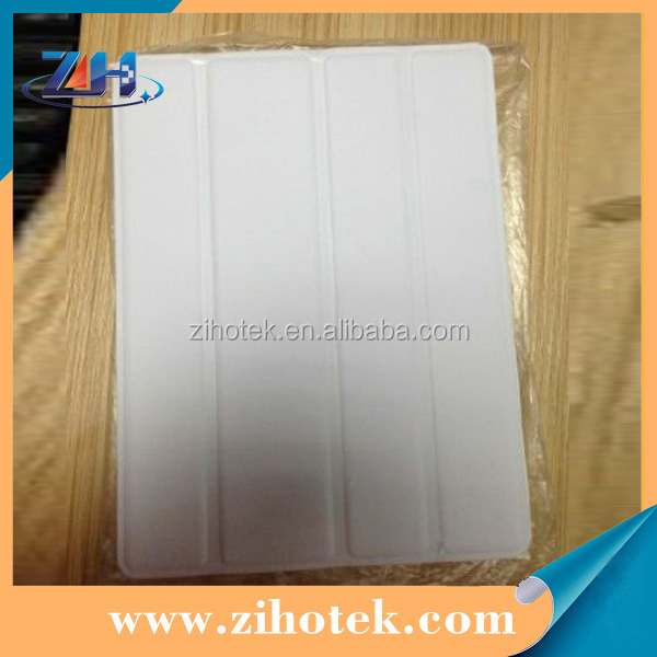 TPU sublimation leather cover case for iPad 2/3/4 with Dormancy function