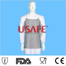 SA-80 stainless steel metal mesh butcher safety cut resistant apron