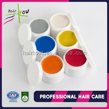 ISO/GMPC ectra man cream super wax hair pomade water based edge control long lasting temporary color wax