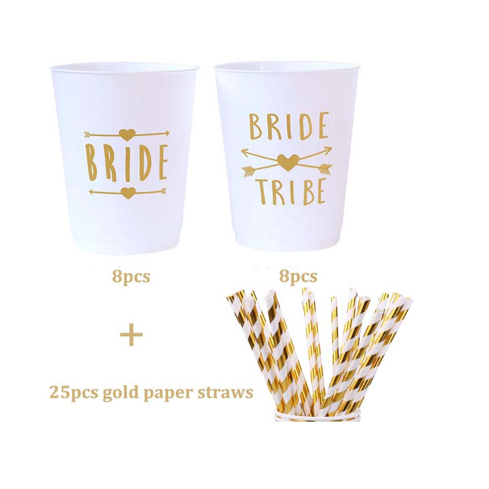 Bachelorette Cup With Bride Tribe For The Bride To Be Party