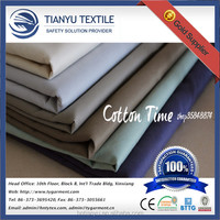 Polyester Cotton Plain Poplin Fabric ( T/C 65/35 45x45 133x72 )