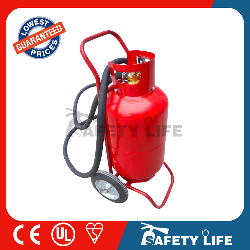 50kg abc wheeled dry powder fire extinguisher/afo fire extinguisher ball