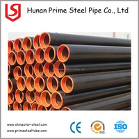 HOT SALE API 5L GRB ERW SPIRAL SSAW WELD STEEL PIPE WITH BLACK PAINT