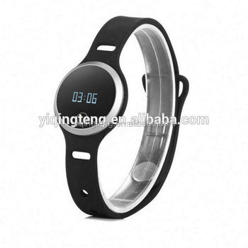 silicone new electronic intelligent health bluetooth bracelet