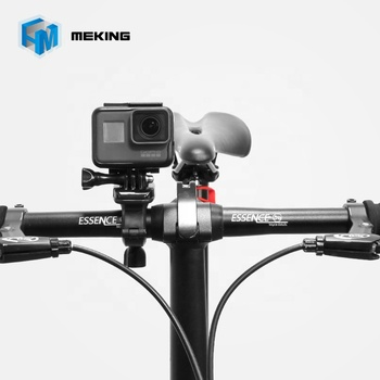 360 Degree Rotate Bicycle Bike Handlebar Seatpost Pole Mount For Gopro
