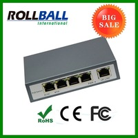 Network equipment 10/100M 4 port poe switch plus one UTP port