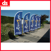 Good Quality Custom Printing Advertising Polyester Flag Banner