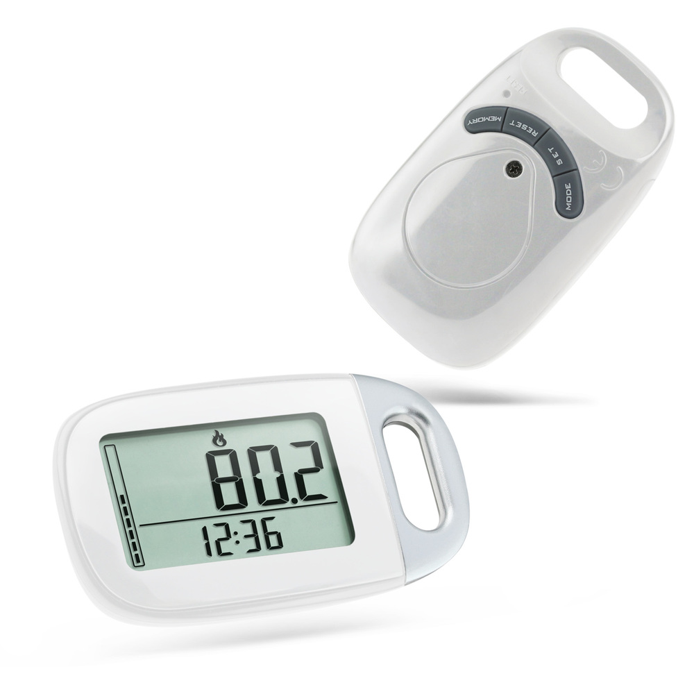 Fitness& body building calorie pedometer