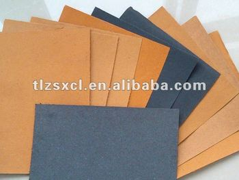 Different thickness leatherette shoe sole leather material