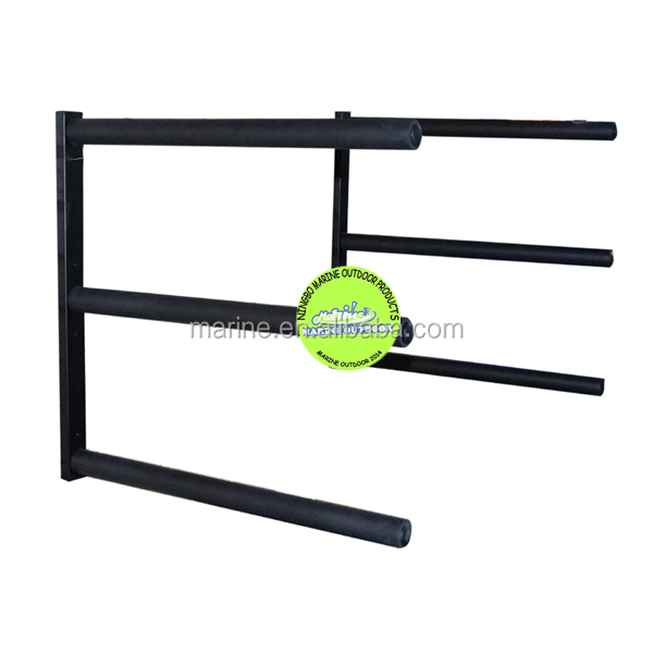 Double Paddle board SUP wall mounted home storage rack