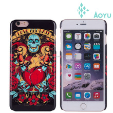 fashion design transparent mobile phone cover , metal cover for mobile phone