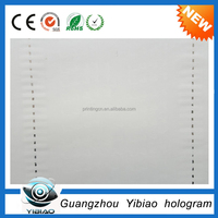 Banknote cotton security thread watermark paper 75% cotton 25% linen banknote paper