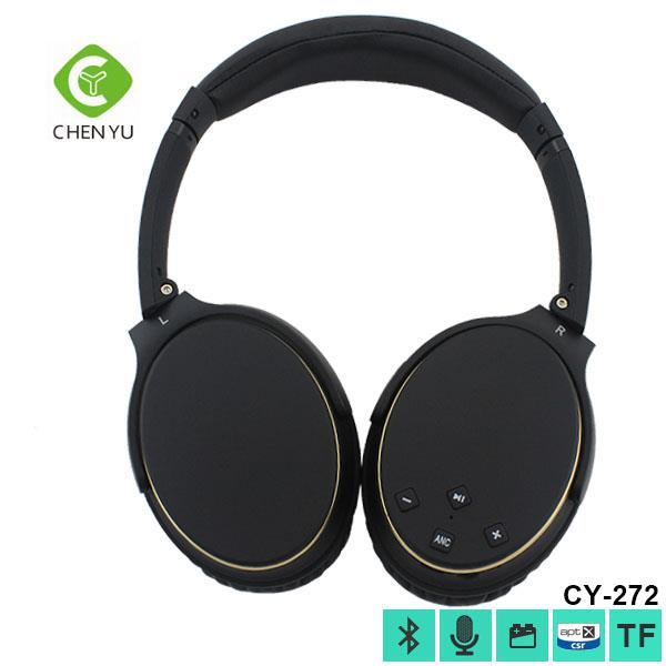 Fashion stereo handphone bluetooth headsets for pc