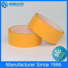 non-residue or exceeded glue high temperature multicolor Bopp masking tape applying to decoration