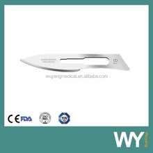 Sharp Point Sterile Carbon Steel Surgical Blades