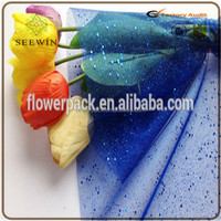 sequin mesh fabric suitable for flower wrapping