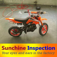 motocycle inspection service in zhejiang AQL standard