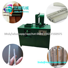 Recycling paper pencil printing rolling make machine/stick rolling newspaper pencil machine