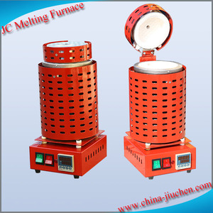 Homemade Induction Electric Melting Furnace for Gold Melting