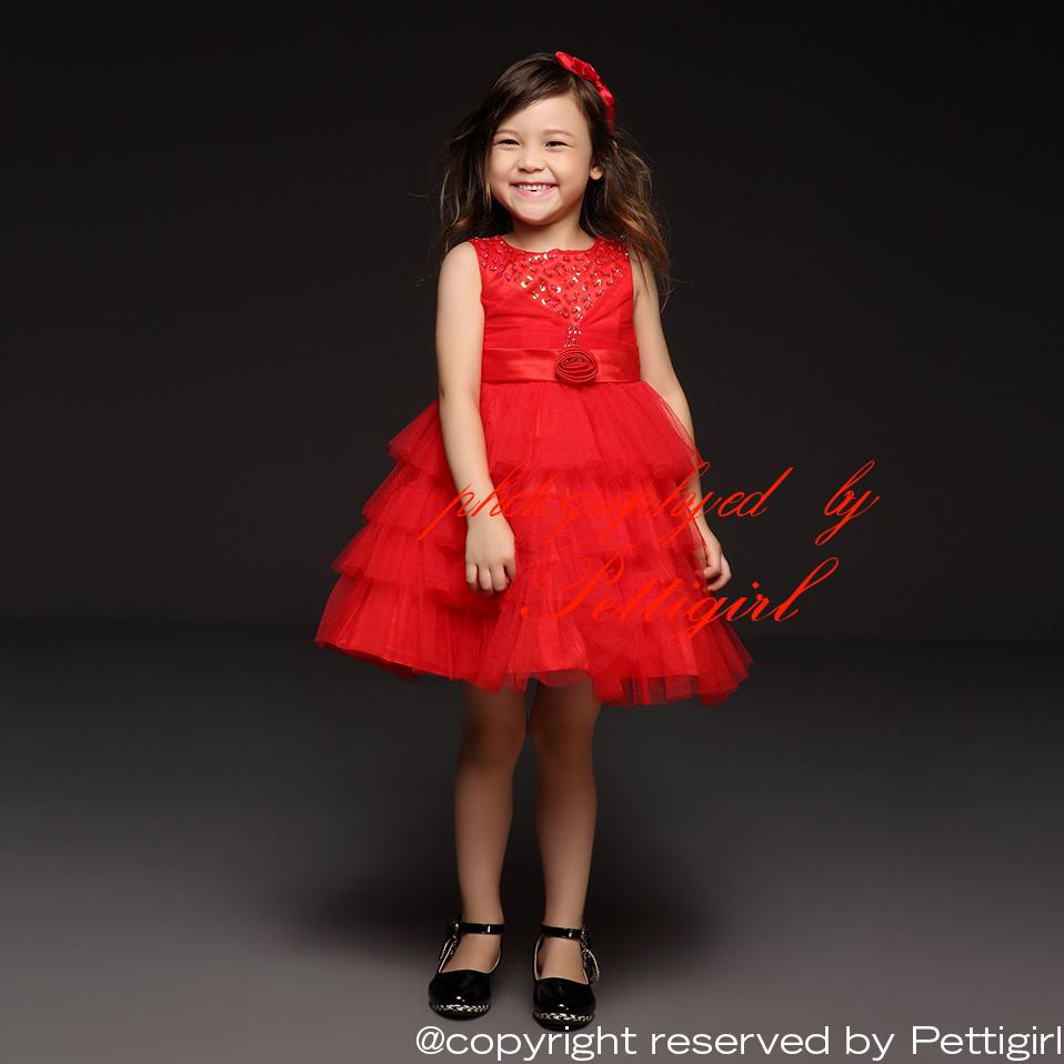 Красное платье дети фото