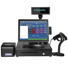 12 15 inch Android 5.1 all in one android pos system with WIFI