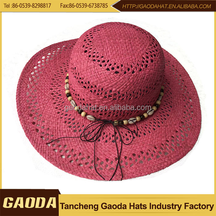 Fashion Womens Summer Dress Hats With Lace