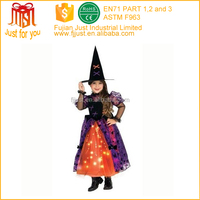 custom witch halloween costume for 8 year old