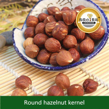 China Factory Wholesale High Quality Organic Nuts Raw Round Hazelnuts Kernel