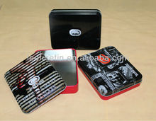 High quality rectangular wallet tin box