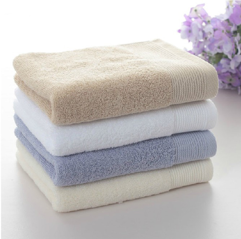 Supply Soft bath towel home textile 100% cotton towels