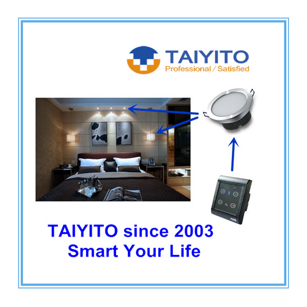 TAIYITO 2016 OEM Factory Home Automation 220V Long Distance Wireless Remote Switch ZigBee Push Button Switch