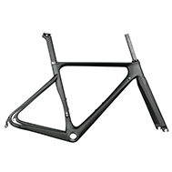 Aero carbon road frame T800 bike frameset for sale