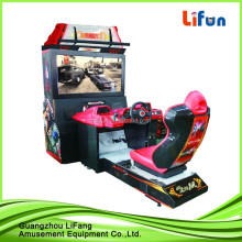 coin operated arcade machine battery kids racing mini electric car motorcycle simulator racing game machine for mall