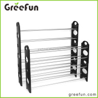 8 Shelf 50 Pair Outdoor Shoe Rack Waterproof , Stackable Sturdy Shoe Rack Organizer Storage , Hot Selling Shoe Shelf Sapce Saver