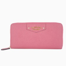 MINANDIO chinese supplier business card holder genuine leather women wallet