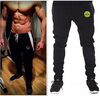 MOON BUNNY 2016 New Fashion Sports Tracksuit Bottoms Golds Gym Mens Pants Jogging Sweatpants Trousers Calca Masculina Pantalon H