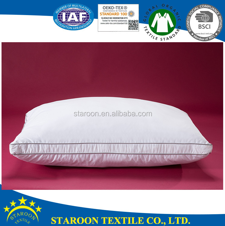 luxury 25mm 100% feather down filling euro pillow shams