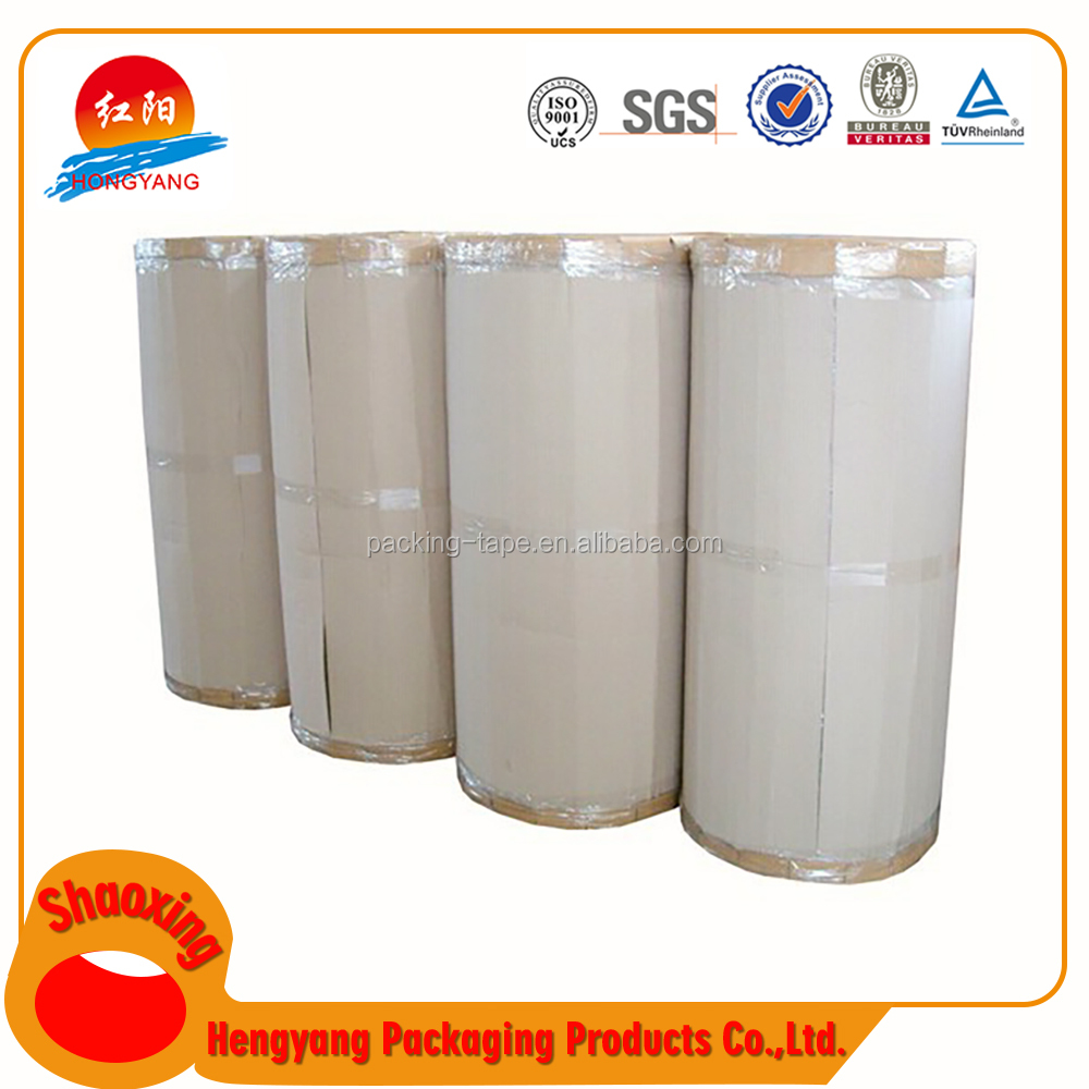 Good Price China Supplier Carton Sealing Bopp Jumbo Roll Pp Tape Parent More Colorful Packaging Tape