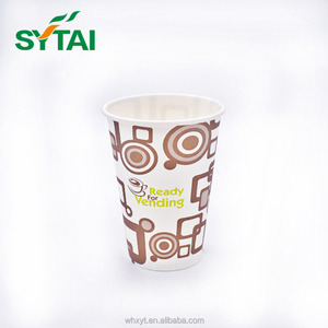 Custom Designs Disposable Coffee Vending Paper Cups For Vending Machine