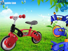 two wheels no pedal plastic body mini pocket bike