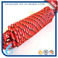 16 Strand High Strength Polypropylene Pp Diamond Braid Multifilament Anchor Rope For Sale