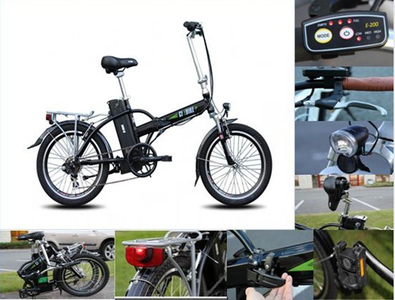 smart 20 inch aluminium alloy foldable electric bicycle/E-bike for sale