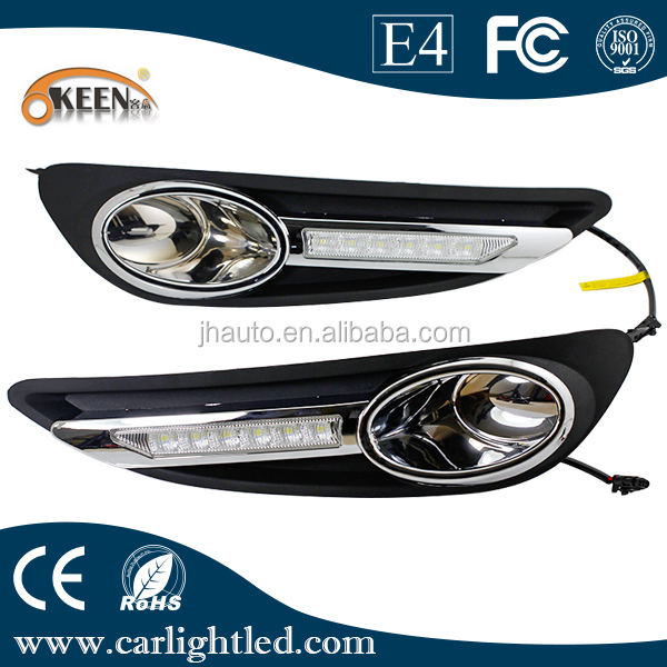 High Quality 12V Waterproof Car Led Daytime Running Lights for BYD