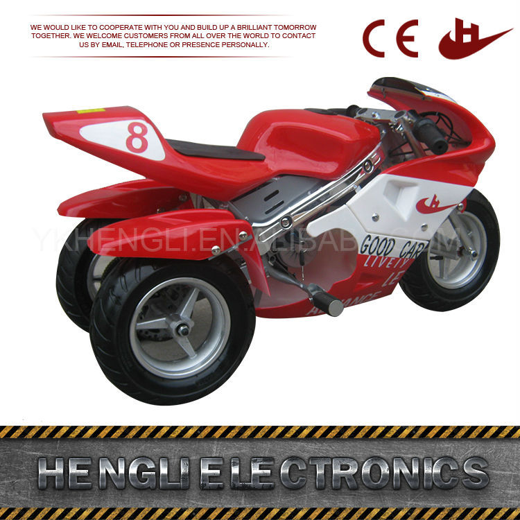 CE Approved cheap used 50cc super pocket bike