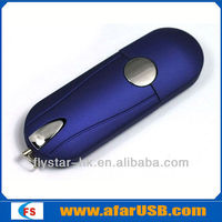 2013 super quality! real original chips flash usb,free embossing Secure storage lether usb,Encrypt usb flash memory